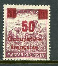 Hungary 1919 French Occupation 50f/3f Sc #1N21 Mint M912 ⭐⭐