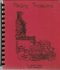 CROSBY, MINNESOTA COOKBOOK - ST. JOSEPH'S CATHOLIC CHURCH - 1980 - ETHNIC!!