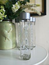 6 *EMPTY* Glass Voss Water Bottle (800ml)