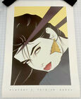 Rare Playboy Patrick Nagel Collection 1993 Eva Voorhees 80s Supermodel