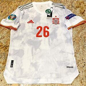 Adidas Spain Euro 2021 Jersey Large Away Kit Pedri