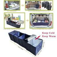 Collapsible Car Cargo Organizer Trunk Storage Bag Folding Case Warm/Cooler Bag
