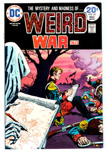 WEIRD WAR TALES #25 in VF condition 1974 DC Bronze Age WAR comic