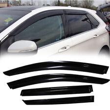 4pcs For 2015-2018 Ford Edge Sun Rain Guard Vent Shade Window Visors