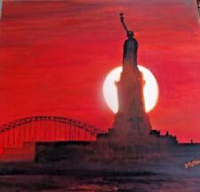 original acrylic painting New York 2007