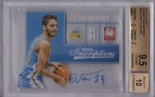 EVAN FOURNIER RC AUTOGRAPH 2012-13 Elite Inscriptions BGS 9.5/10 auto 3x10 Pop 1