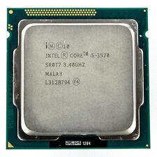 Intel i5-3570 Quad Core 3.4GHz 6M 5GT/s  FCLGA1155 Desktop CPU Processor SR0T7
