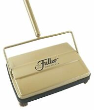 "Fuller Brush Electrostatic Carpet and Floor Sweeper -9"" Cleaning Path-Rich Gold"