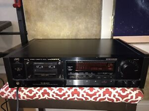 Tested JVC TD-V711 3 Head Tape Cassette Recorder Deck In Good Condition