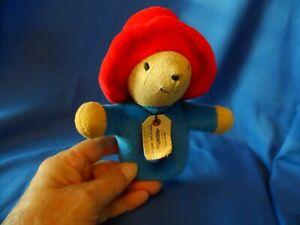 Stuffed Plush Paddington bear Baby Rattle