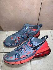 Nike Men's Air Max TR180 AMP Shoe Blk/Dove Gry/Brt Crimson 723973-400 Sz 9.5 US