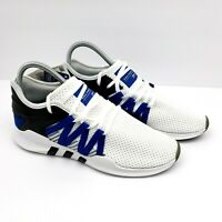 Adidas Eqt Womens Size 6 Racing Adv Running Shoes White Blue Black AC7350