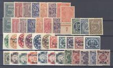 Dt. Reich Dienst Mi.Nr. 16-56 aus Freimarken 1920 ** (33567)