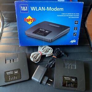 2 Stück WLAN Modem, Router 1&1 Fritz!Box 7312