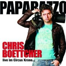 "C. BOETTCHER ""PAPARAZZO LIVE IM CIRCUS KRONE"" 2 CD NEU"