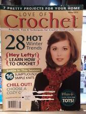 Love Of Crochet Magazine Winter 2012