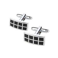 New rectangular design men's Cufflinks For Business Wedding Birthday Gift