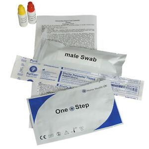 Gonorrhea Test Kits Gonorrhoea Swab Tests (Male & Female) GP STI STD Screening