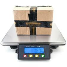 More details for 200kg/50g digital postal parcel scales weighing stainless steel platform uk