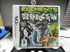 JEU NINTENDO DS - ELEMENTS OF DESTRUCTION