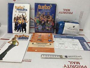 Brand New & Factory Sealed DVD Turbo Jam 5 Workouts Beachbody Glove Guidebook 15