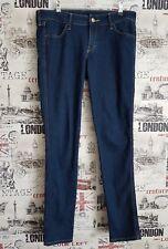 H&M Denim Slim Skinny Bleu Foncé Jeans Pointure 12