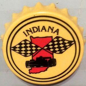 Vintage Indianapolis Indy 500  Motor Speedway  Bottle Opener / Magnet