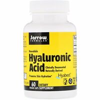 Hyaluronic Acid 50mg 60 Veg Capsules | Skin Hydration Anti-Aging | Joint Support