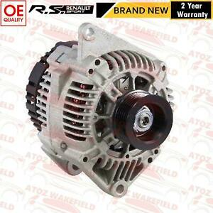 FOR RENAULT CLIO SPORT 2.0 16V 172 182 ALTERNATOR *FOR MODELS WITH AIR CON*