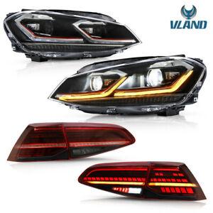 VLAND für 2012-19 GOLF7 7.5 MK7 MK7.5 R GTD TDI scheinwerfer&Rückleuchten E-mark