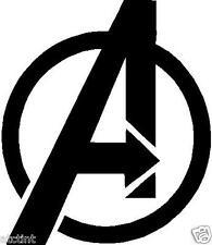 (2) Avengers Logo Vinyl Decal Sticker Window