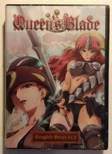 QUEEN'S BLADE: Complete Series 1 & 2 - MINT NEW SEALED DVD SET!! OOP