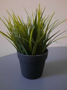 GRASS PLANT IKEA FEJKA Artificial Potted Plant, In/Outdoor Plants 8CM