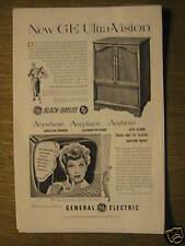 G.E. T.V. ad w/Lucille Ball