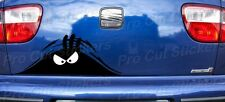 Evil Monster Small to Large Peeping Peek a Boo Funny Car Van Stickers Decals d1