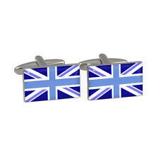 blu bandiera Union Jack GEMELLI CAMICIA IN CONFEZIONE REGALO British UK inglese