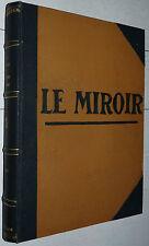 RELIURE MIROIR 1919-1920 40 N° 14-18 AVIATION MARINE VERSAILLES FOCH FREIKORPS