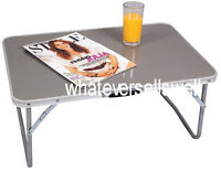 LOW CAMPING TABLE ideal for picnic garden folding legs drinks