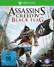 Assassin's Creed IV: Black Flag (Microsoft Xbox One, 2013, DVD-Box)