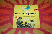 """♫♫♫ Friedel Hensch und die Cyprys - das ist ja prima, Polydor 45080 10"""" LP ♫♫♫"""