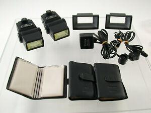 VIVITAR 283 analog System Blitz flash Kult iconic large grosses Set /19