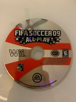 FIFA Soccer 09 All-Play (Nintendo Wii) WORKS / NO TRACKING / DISC ONLY
