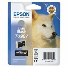 Original Epson T0967 Black Light C13T09674010 for Photo R2880 MHD 07/2016