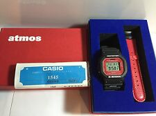 G-Shock DW-5600VT x Atmos Limited Edition Black Red