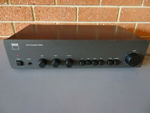 NAD Pre Amplifier 1020A with Variable Phono Capacitance. MM & MC