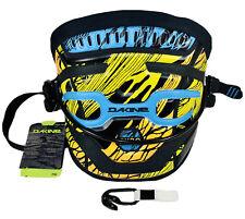 Dakine Pyro Kiteboard Harness Size Xs Yellow Orange Blue Black New Nwt