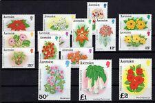 P136490/ ASCENSION - FLOWERS / Y&T # 277 / 291 MINT MNH FULL SET