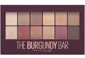 MAYBELLINE The Burgundy Bar Eyeshadow Palette 9.6g - NEW Sealed