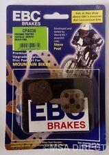 Tektro Io (orgánico compond) EBC Resina Bicicleta de montaña Pastillas Frenos (