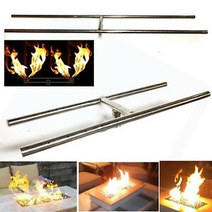 EasyFirePits Lifetime Warr 316 Stainless Gas H-Burners for Fire Pit/ Fire Tables
